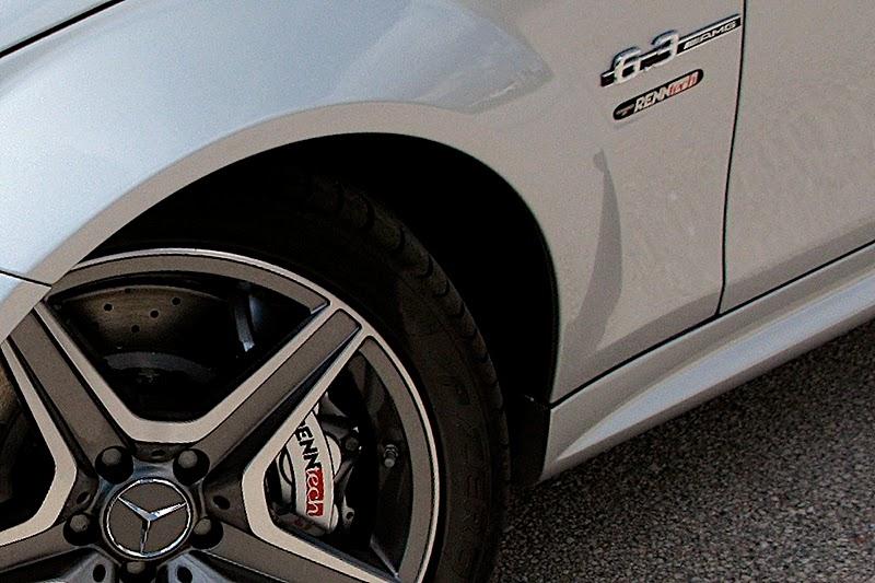 Mercedes-Benz C63 AMG уточненный Renntech - фотография №2