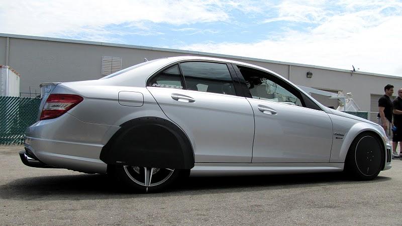 Mercedes-Benz C63 AMG уточненный Renntech - фотография №7
