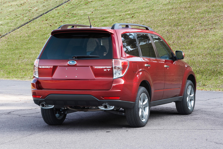 Subaru Forester с именем Motor Trend 2009 Sport/Utility of the Year - фотография №3