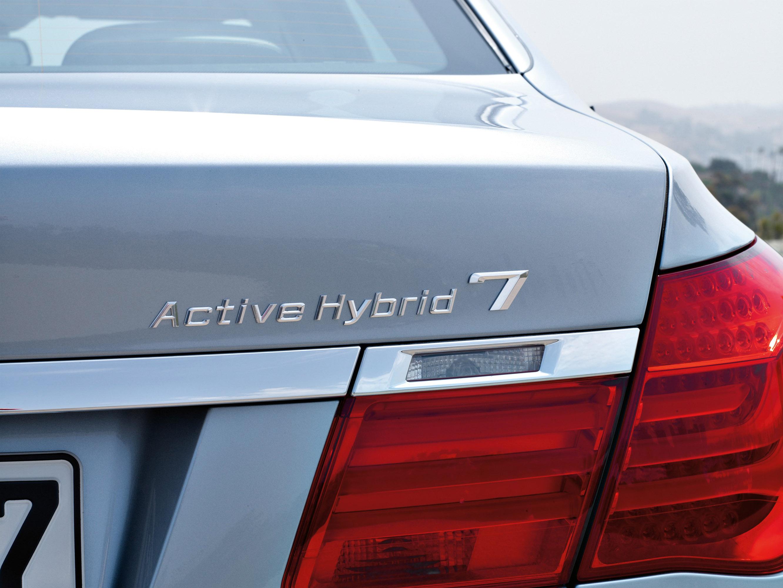 2010 BMW ActiveHybrid 7 - фотография №9