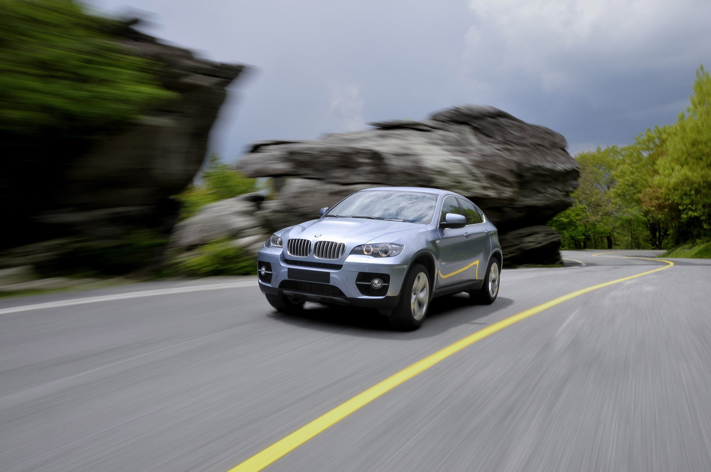 2010 BMW ActiveHybrid X6 - фотография №23