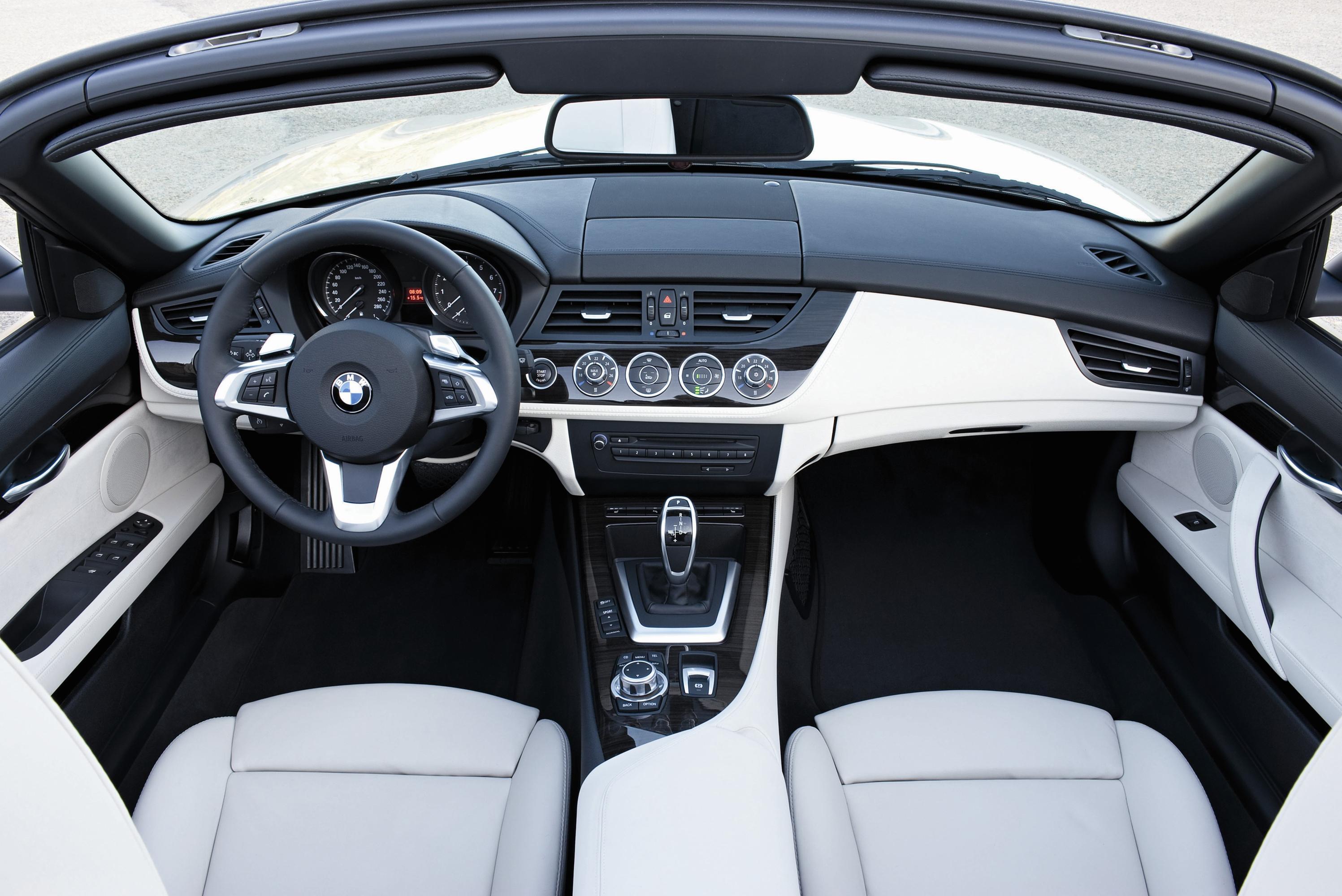 Новый 2010 Bmw Z4 Roadster - фотография №46