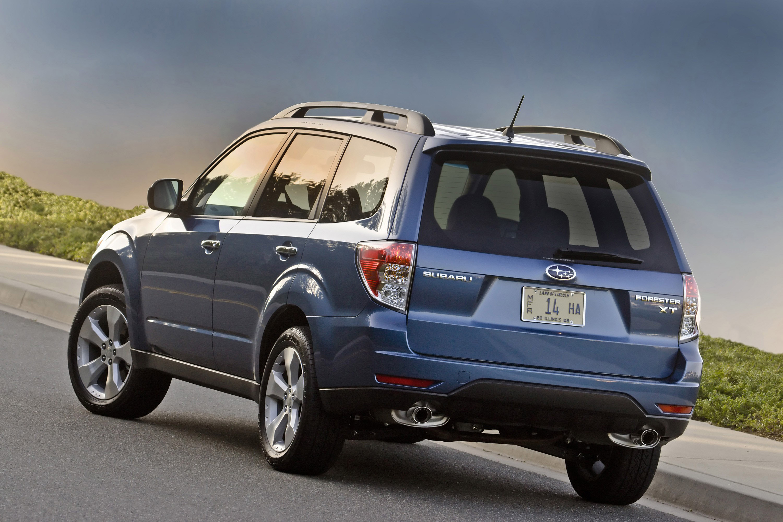 Subaru добавляет дополнительные уровни отделки салона на 2010 Forester line-up - фотография №2