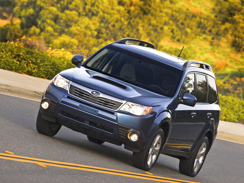 Subaru добавляет дополнительные уровни отделки салона на 2010 Forester line-up - фотография №10