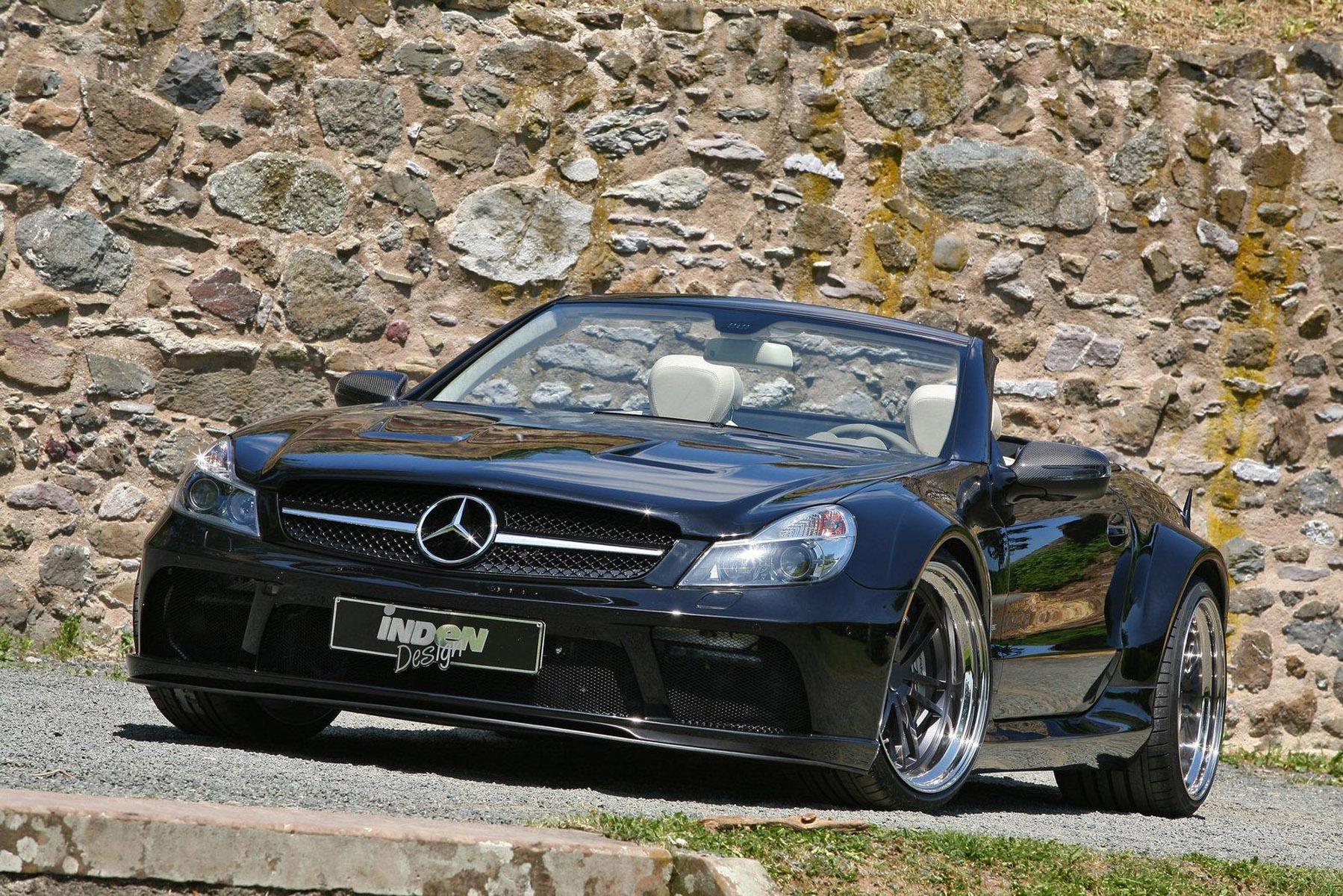 Inden Design изысканный Mercedes-Benz SL 63 AMG - фотография №1