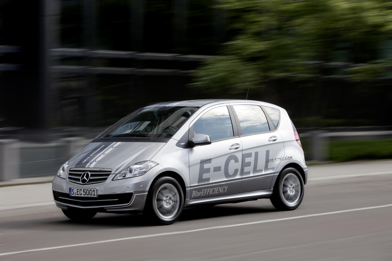 2010 Mercedes-Benz A-Class E-Cell  - фотография №1