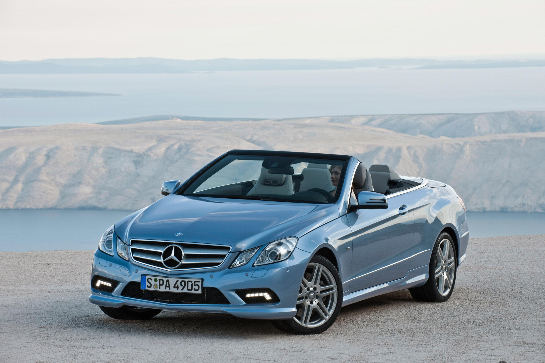 2010 Mercedes-Benz E-Class Cabriolet - большой open air эмоции - фотография №3