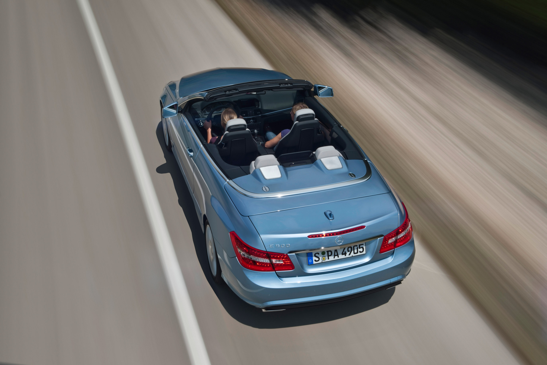 2010 Mercedes-Benz E-Class Cabriolet - большой open air эмоции - фотография №24