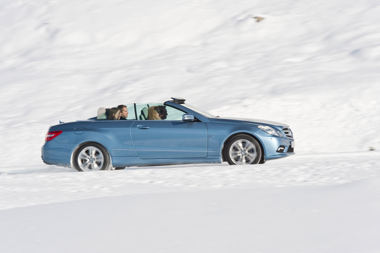 2010 Mercedes-Benz E-Class Cabriolet - большой open air эмоции - фотография №32