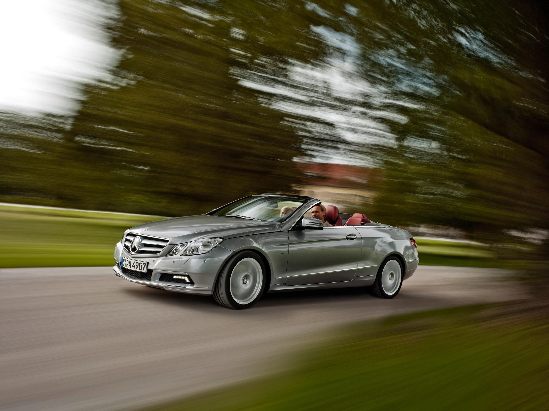 2010 Mercedes-Benz E-Class Cabriolet - большой open air эмоции - фотография №36