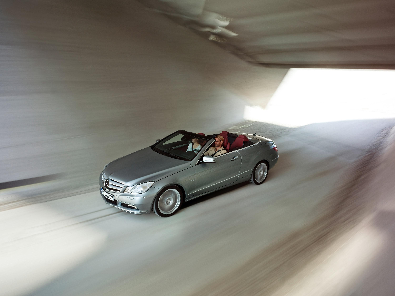 2010 Mercedes-Benz E-Class Cabriolet - большой open air эмоции - фотография №38