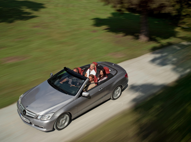 2010 Mercedes-Benz E-Class Cabriolet - большой open air эмоции - фотография №39