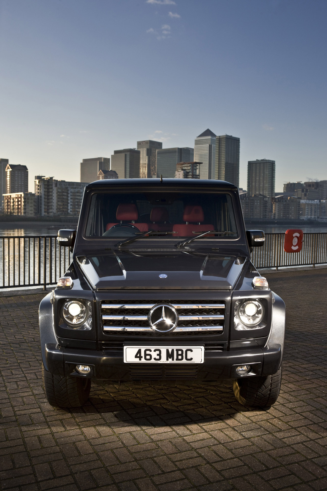 "Mercedes-Benz G-class вернулся на \""дорожку\"" - фотография №1"