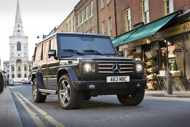 "Mercedes-Benz G-class вернулся на \""дорожку\"" - фотография №4"