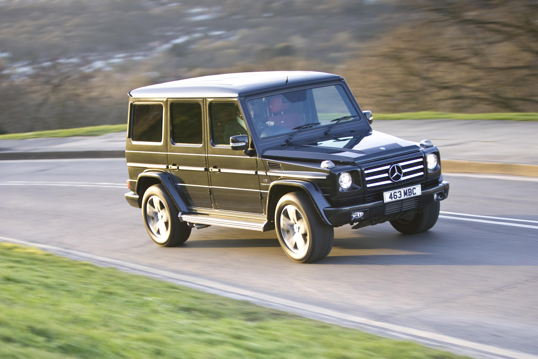 "Mercedes-Benz G-class вернулся на \""дорожку\"" - фотография №12"
