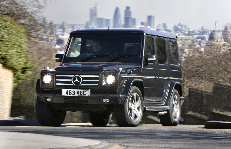 "Mercedes-Benz G-class вернулся на \""дорожку\"" - фотография №14"
