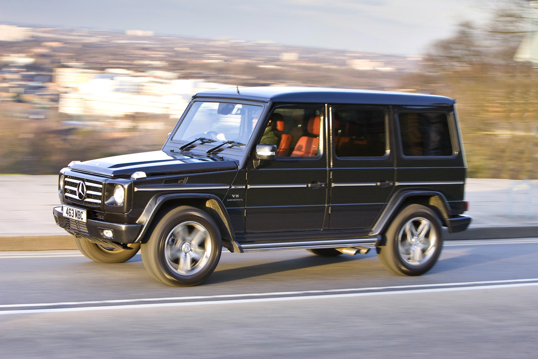 "Mercedes-Benz G-class вернулся на \""дорожку\"" - фотография №19"