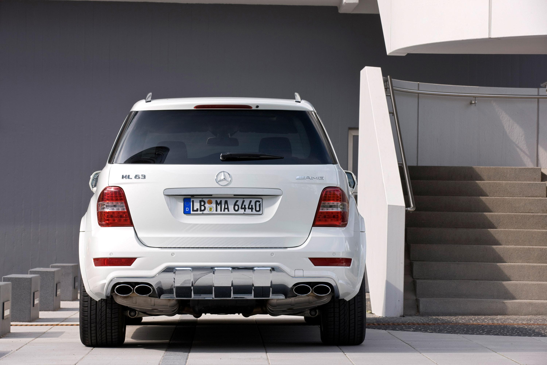 Mercedes-Benz выпускает обновленный ML63 AMG - фотография №4