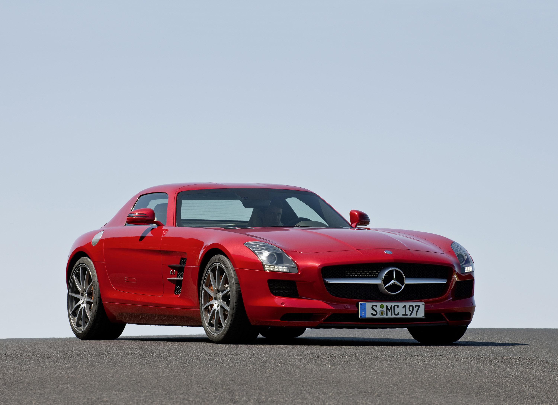Mercedes-Benz SLS AMG - очень много красивых фотографий автомобиля в высоком разрешении - фотография №7