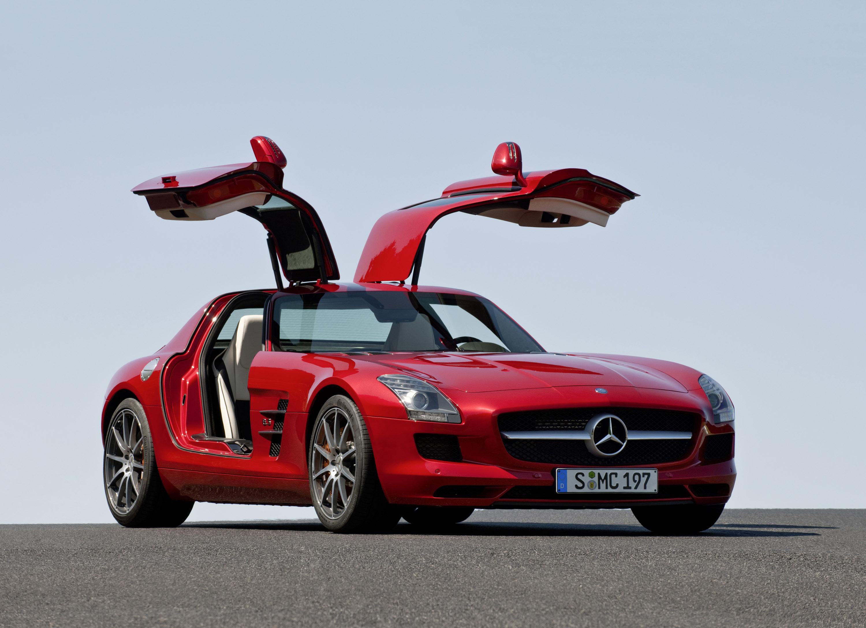 Mercedes-Benz SLS AMG - очень много красивых фотографий автомобиля в высоком разрешении - фотография №8