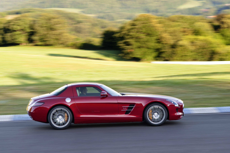 Mercedes-Benz SLS AMG - очень много красивых фотографий автомобиля в высоком разрешении - фотография №11