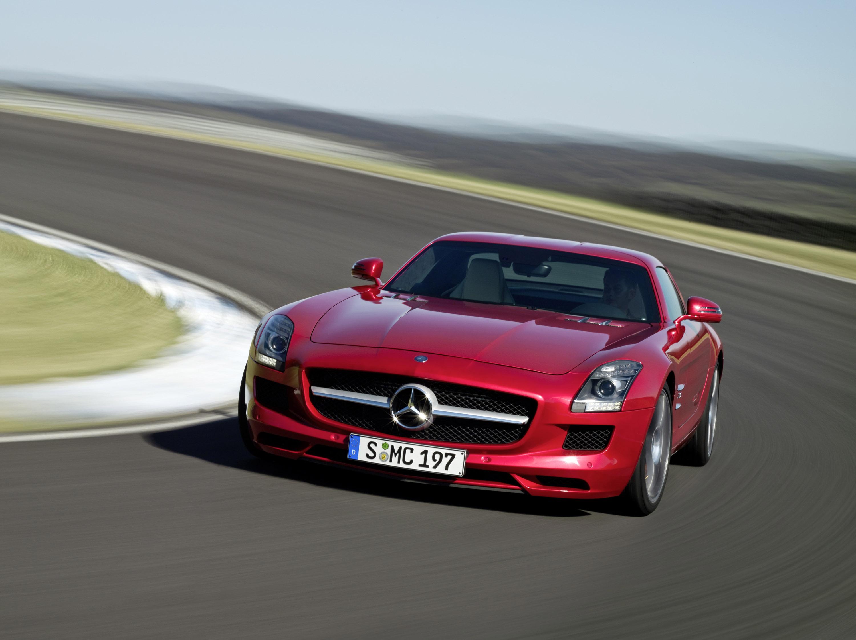 Mercedes-Benz SLS AMG - очень много красивых фотографий автомобиля в высоком разрешении - фотография №12