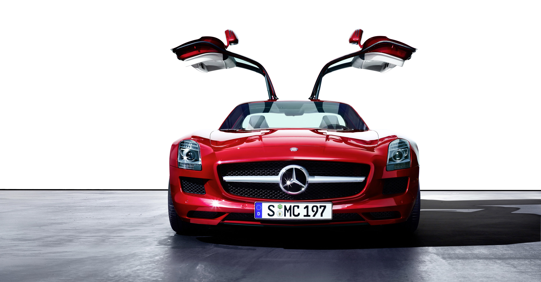 Mercedes-Benz SLS AMG - очень много красивых фотографий автомобиля в высоком разрешении - фотография №14