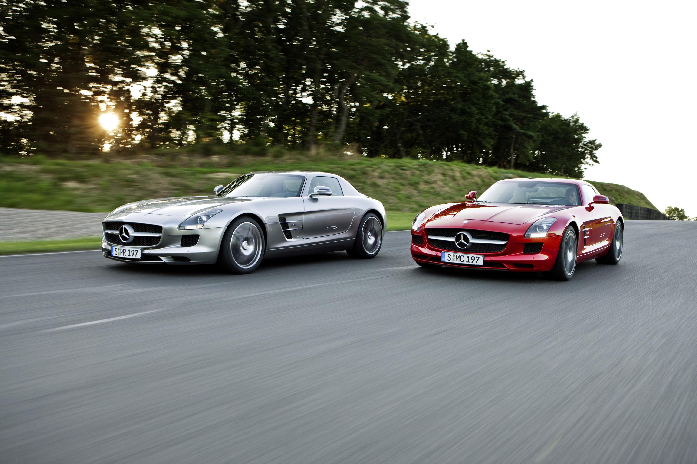 Mercedes-Benz SLS AMG - очень много красивых фотографий автомобиля в высоком разрешении - фотография №17