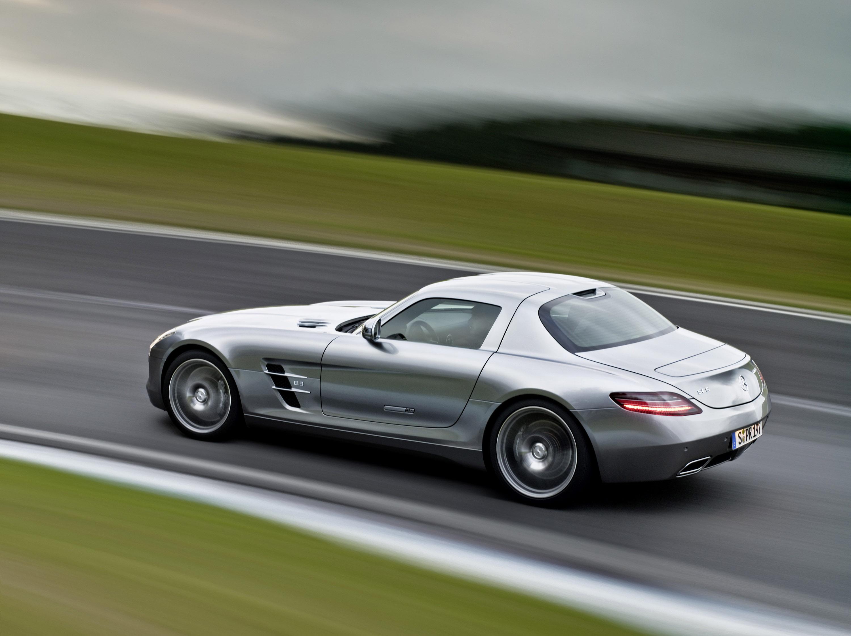 Mercedes-Benz SLS AMG - очень много красивых фотографий автомобиля в высоком разрешении - фотография №20