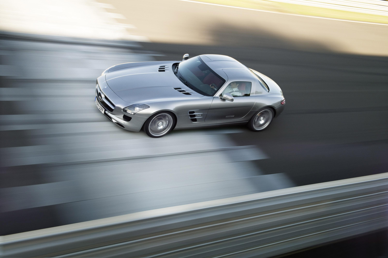 Mercedes-Benz SLS AMG - очень много красивых фотографий автомобиля в высоком разрешении - фотография №28