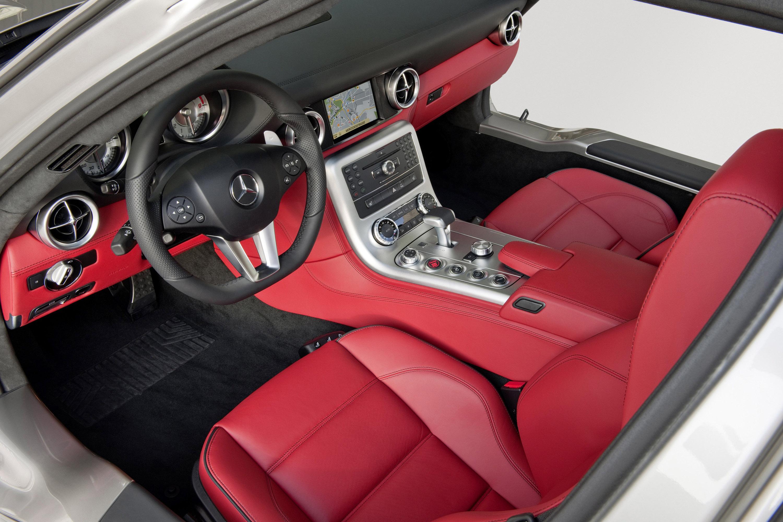 Mercedes-Benz SLS AMG - очень много красивых фотографий автомобиля в высоком разрешении - фотография №36