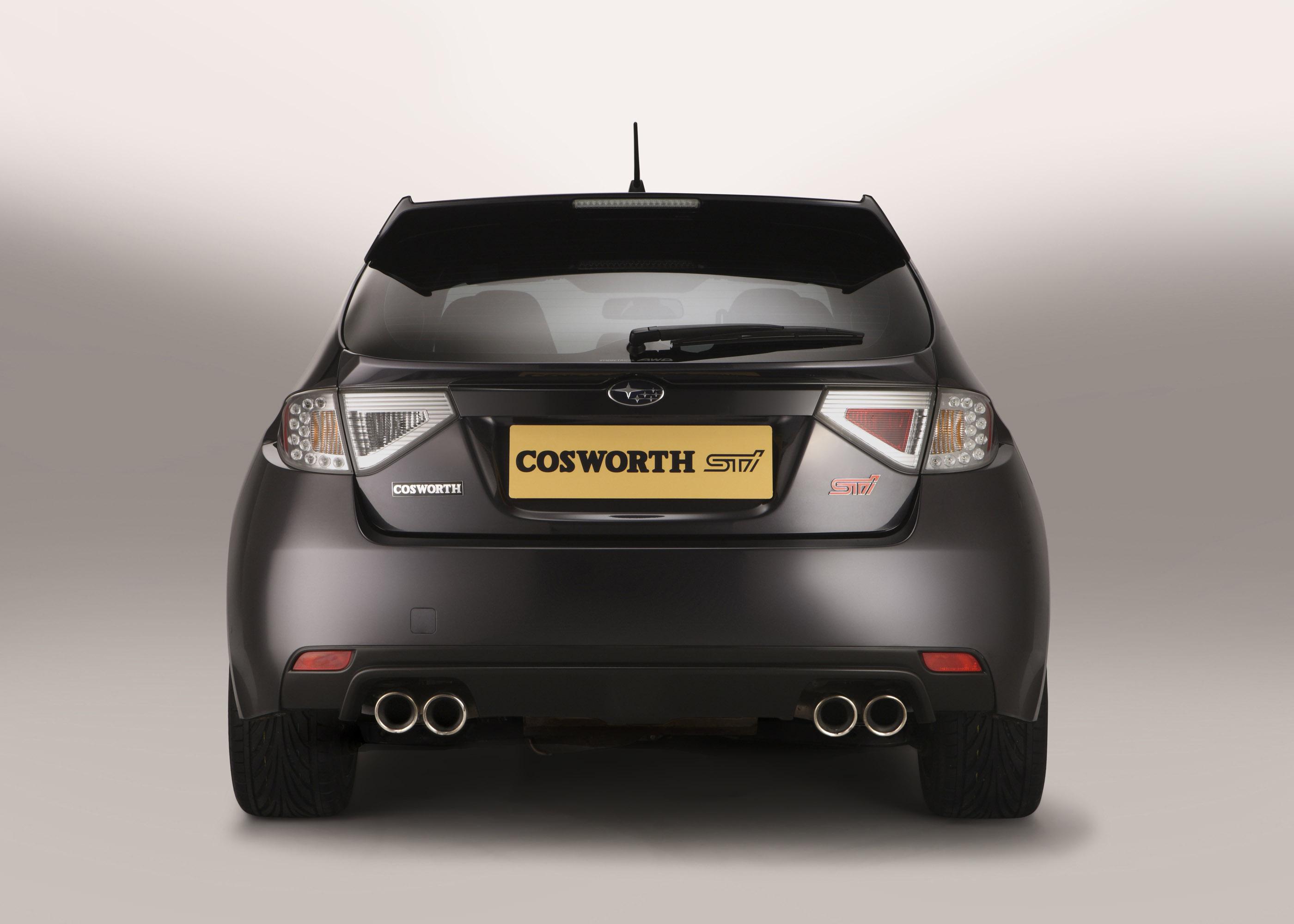 Subaru Cosworth Impreza STI CS400 - фотография №4
