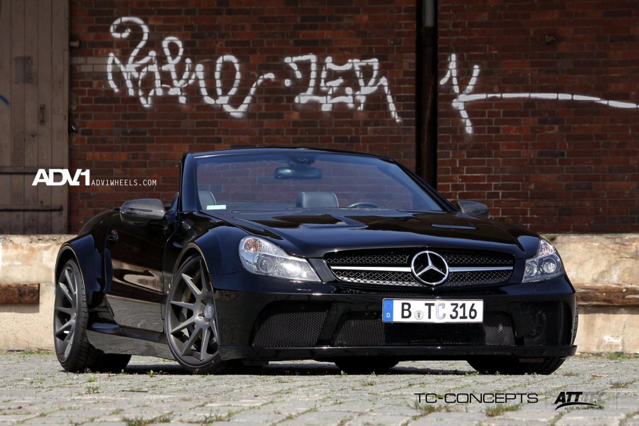 TC-концепции представлена на Mercedes-Benz SL65 - фотография №2