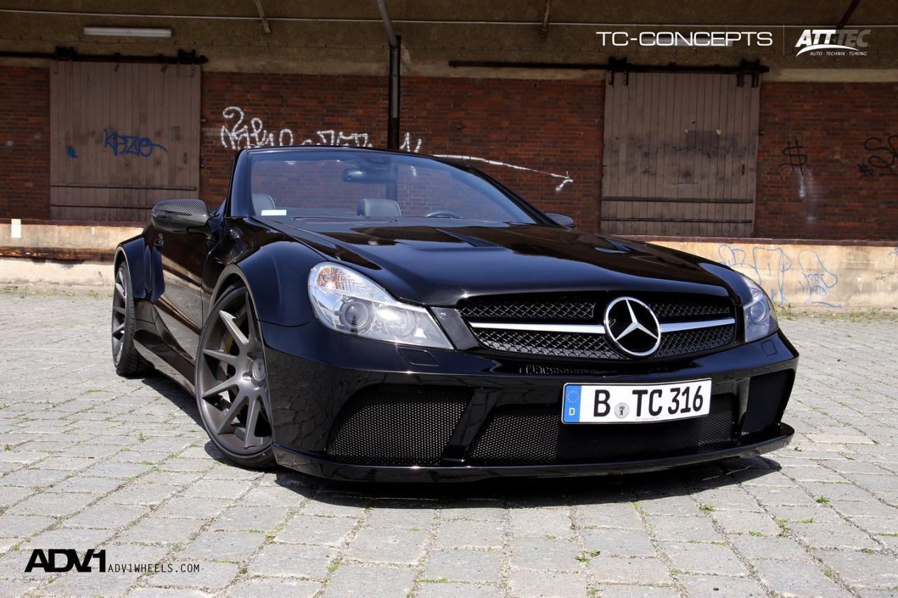 TC-концепции представлена на Mercedes-Benz SL65 - фотография №5