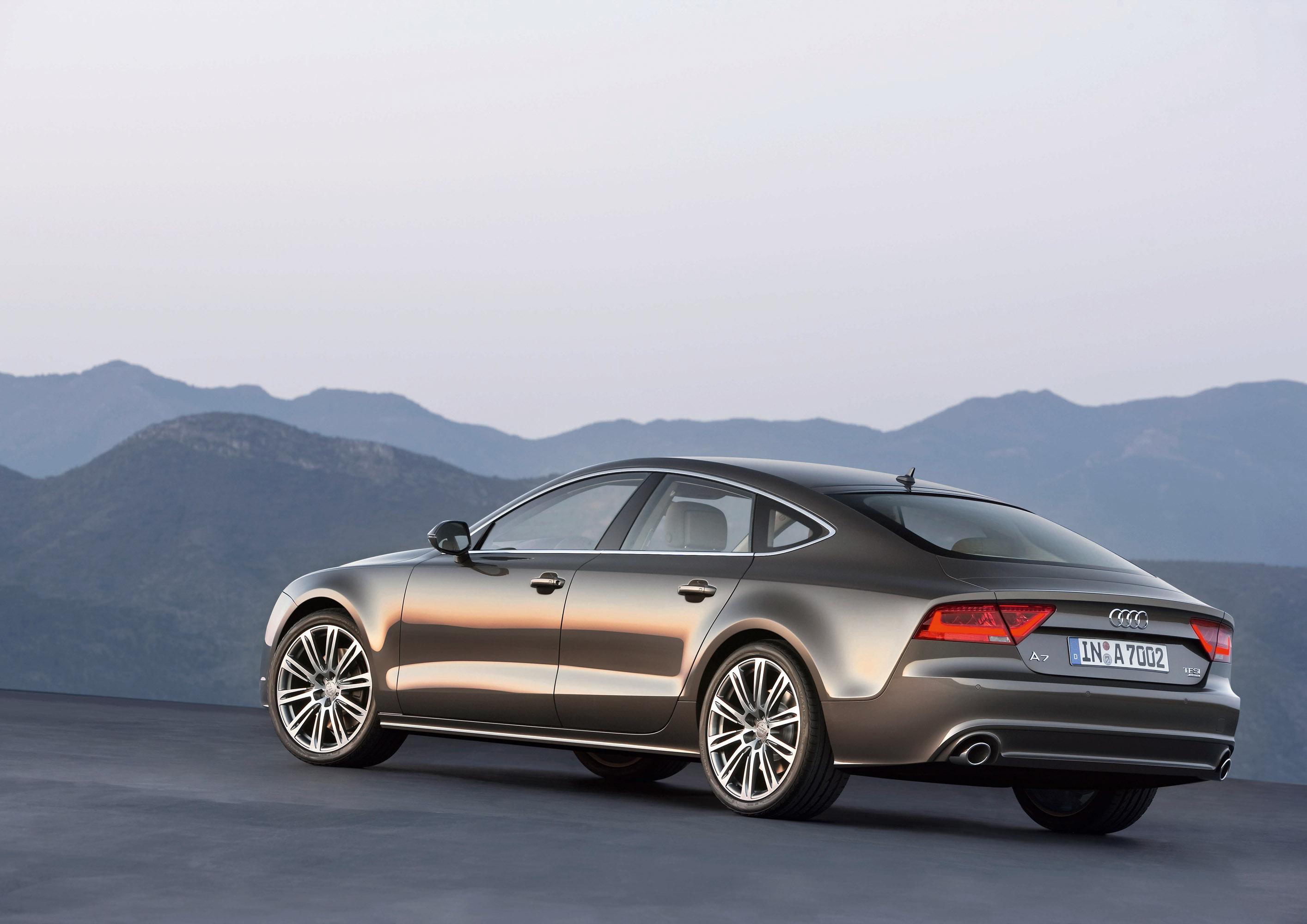 Audi a7 pris