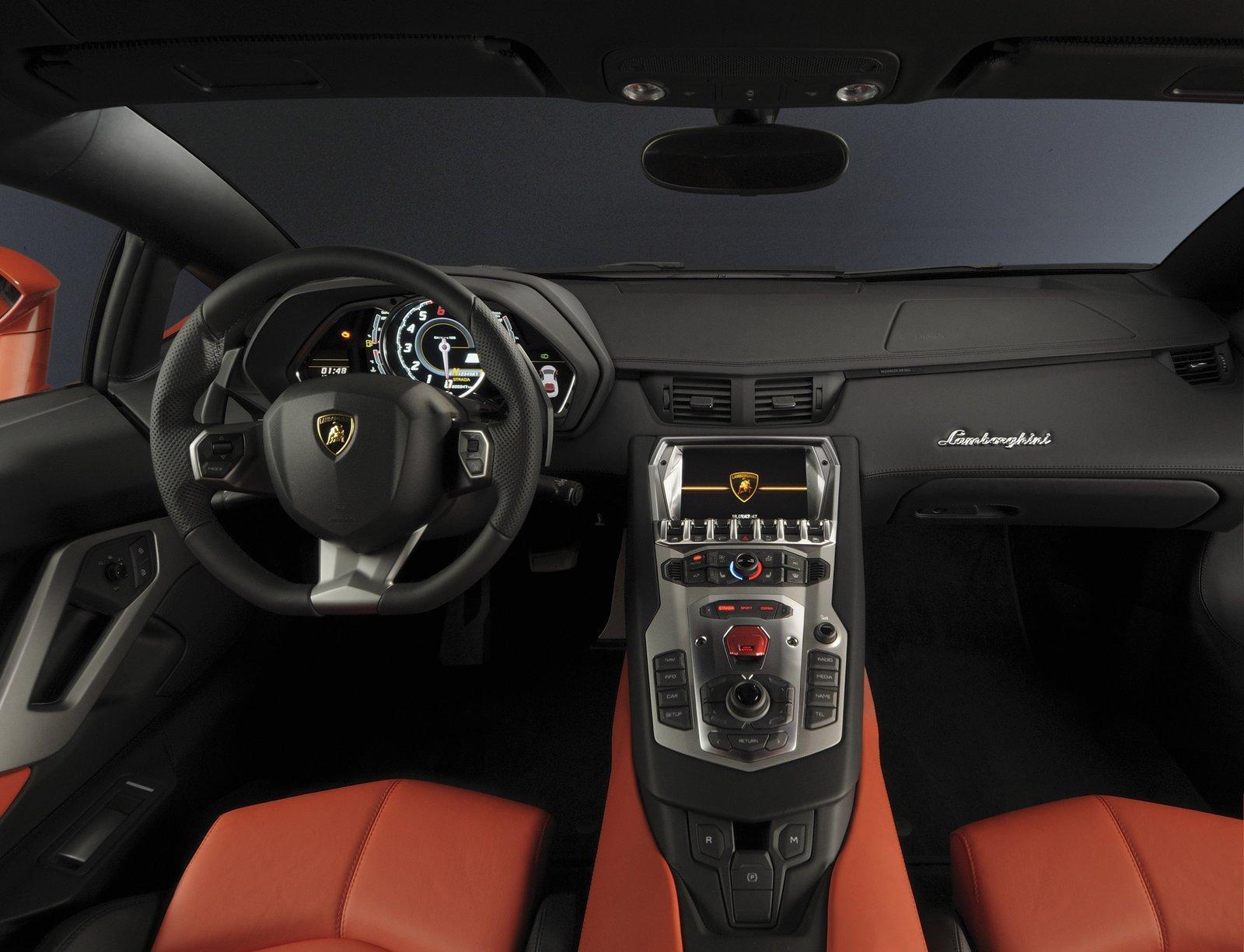 Lamborghini Aventador LP700-4 - фотография №9