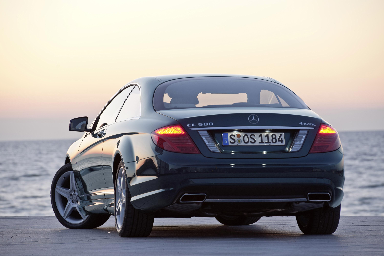 2011 Mercedes-Benz CL-Class сочетает в себе новейшие технологии с повышенной комфортности - фотография №12