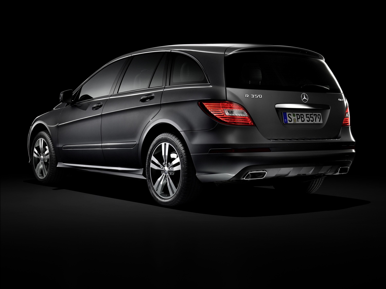 Mercedes-Benz демонстрирует его все-новый 2011 R-класса - фотография №1