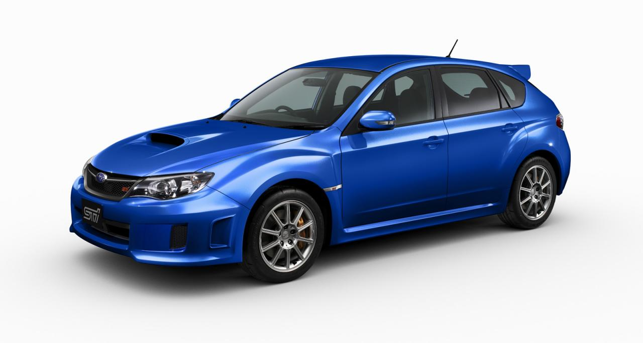 2011 Subaru Impreza WRX STI Spec C - фотография №1