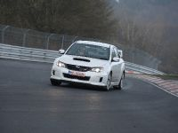 2011 Subaru WRX STI 4-door at Nurburgring