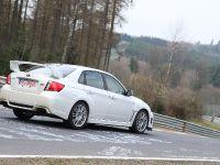2011 Subaru WRX STI 4-door at Nurburgring