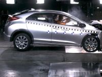 2012 Honda Civic crash test