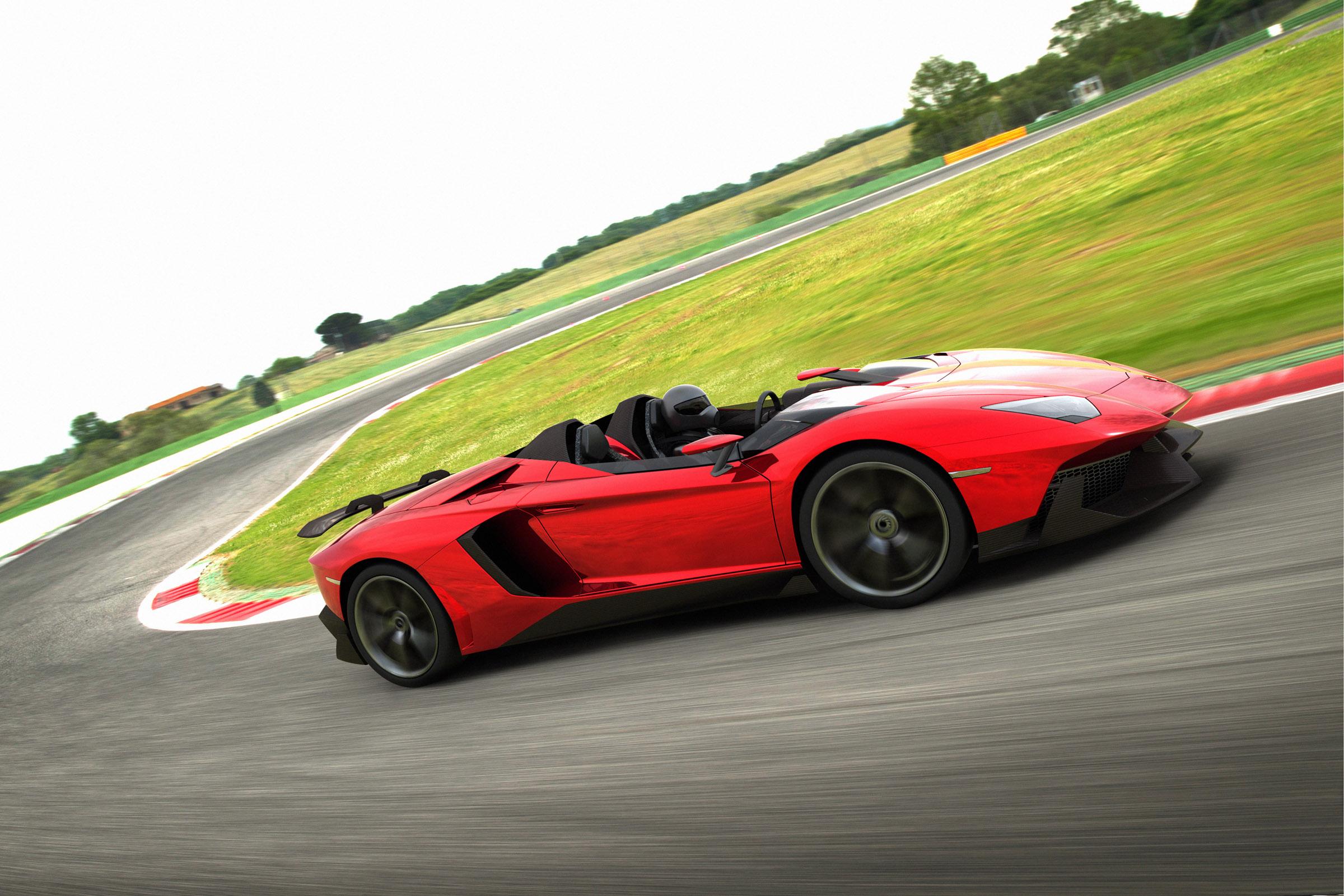 Lamborghini Aventador J Выявлено - фотография №2