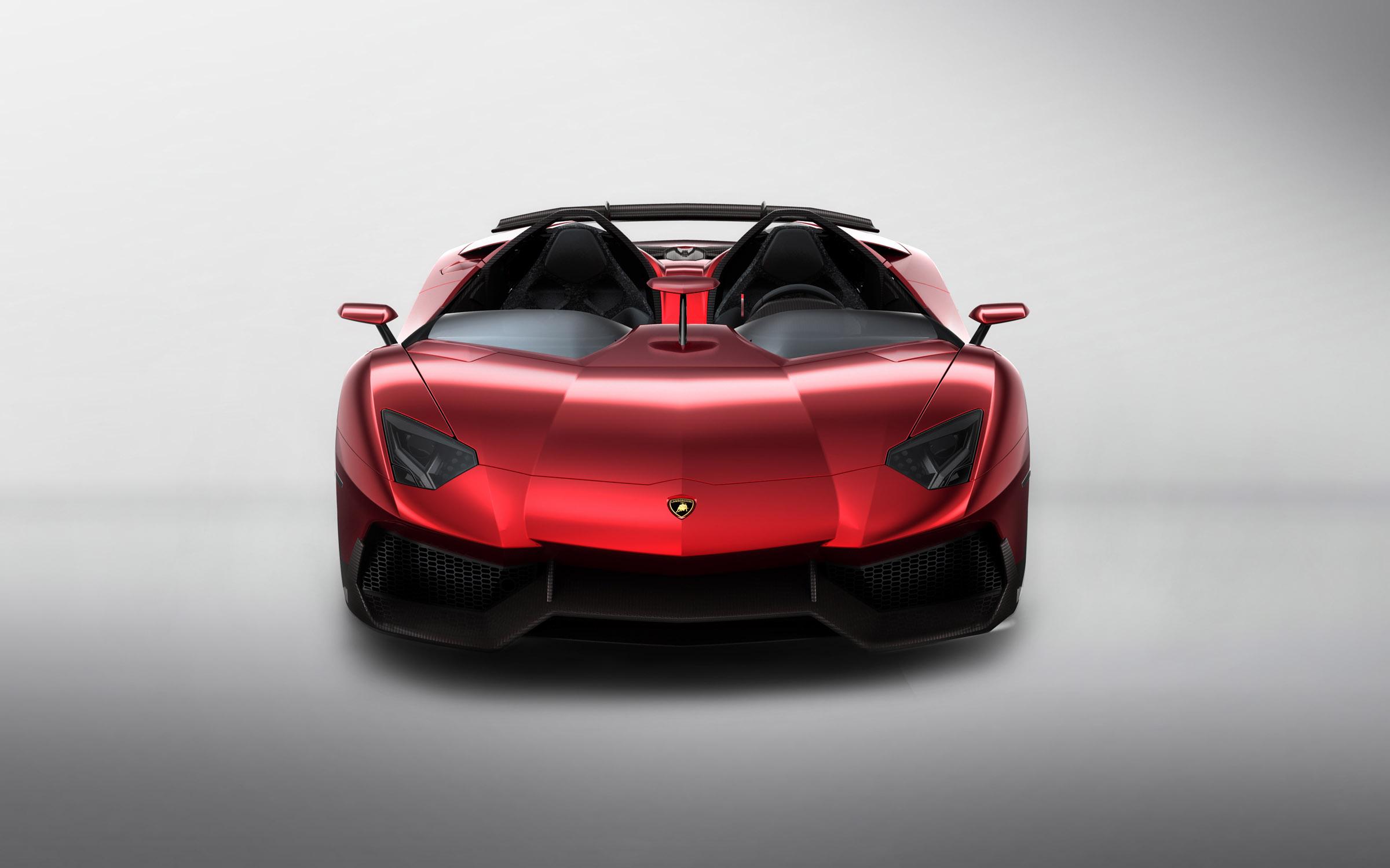 Lamborghini Aventador J Выявлено - фотография №9