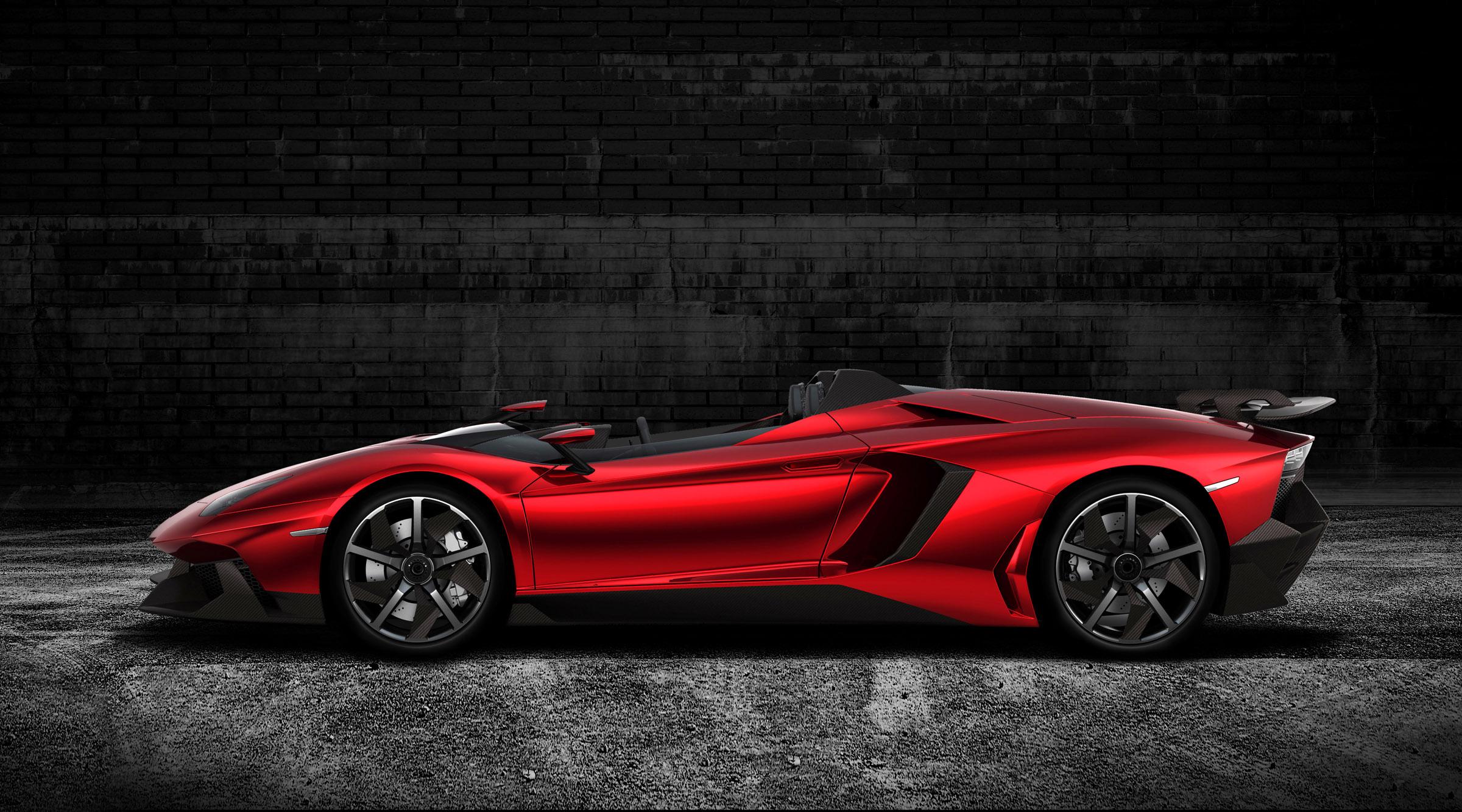 Lamborghini Aventador J Выявлено - фотография №13