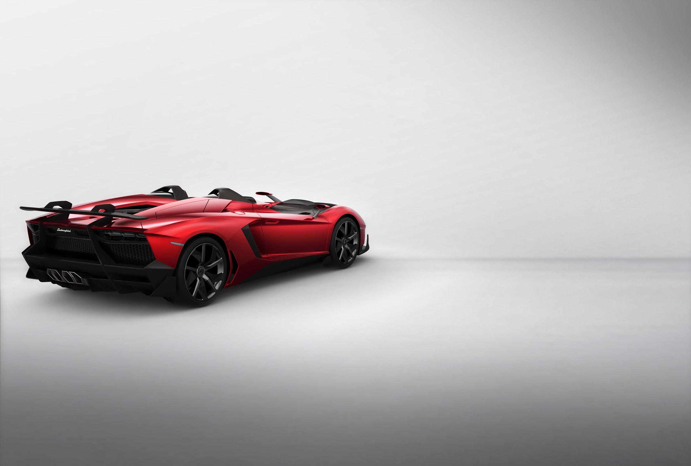 Lamborghini Aventador J Выявлено - фотография №16