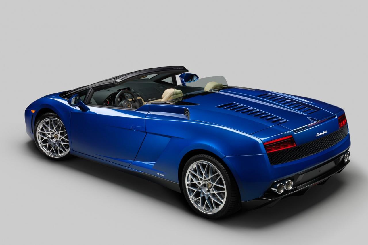 2012 Lamborghini Gallardo LP550-2 Spyder - фотография №2
