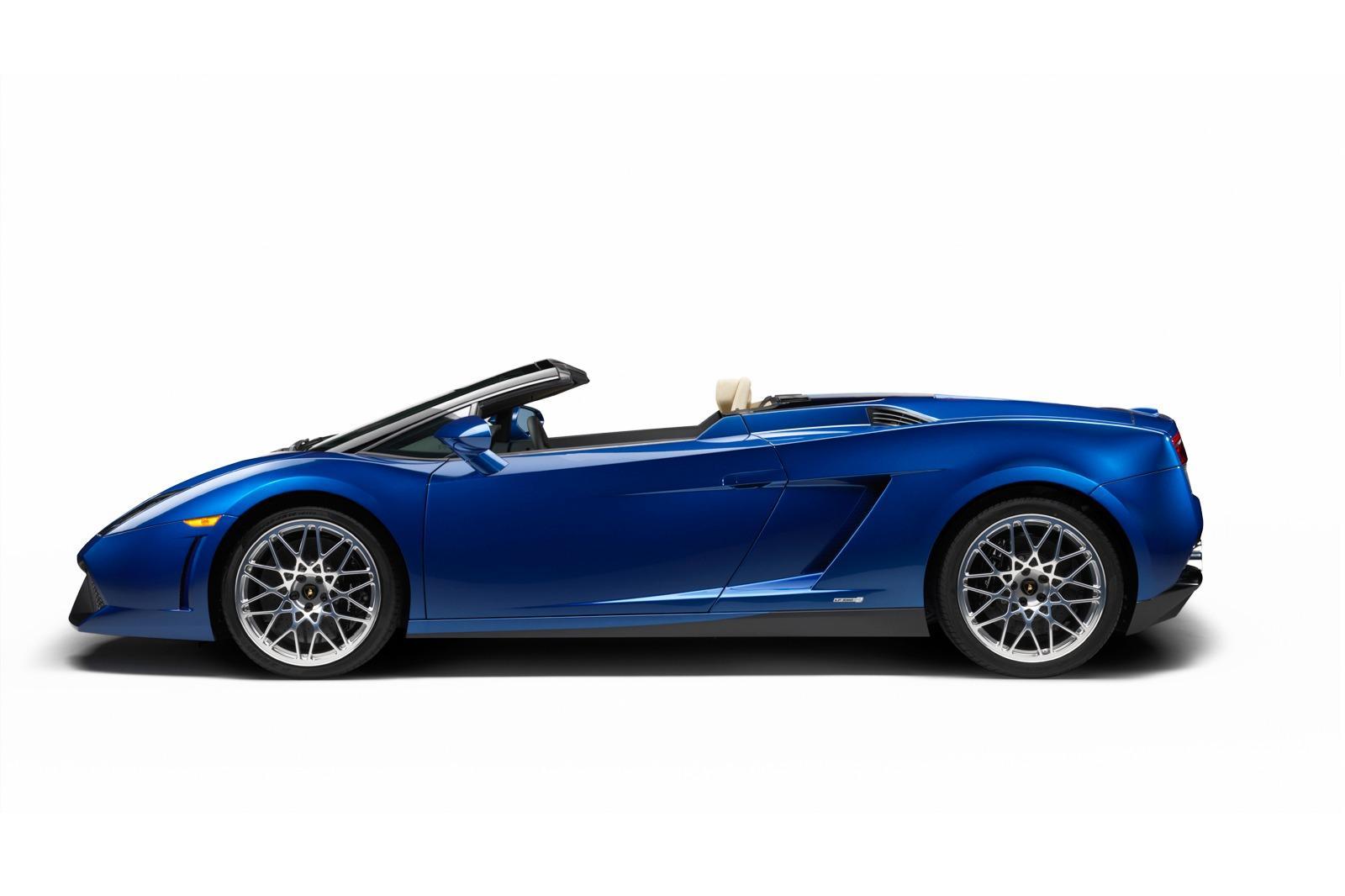 2012 Lamborghini Gallardo LP550-2 Spyder - фотография №3