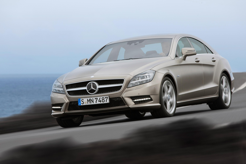 2012 Mercedes-Benz CLS начало продаж - фотография №1