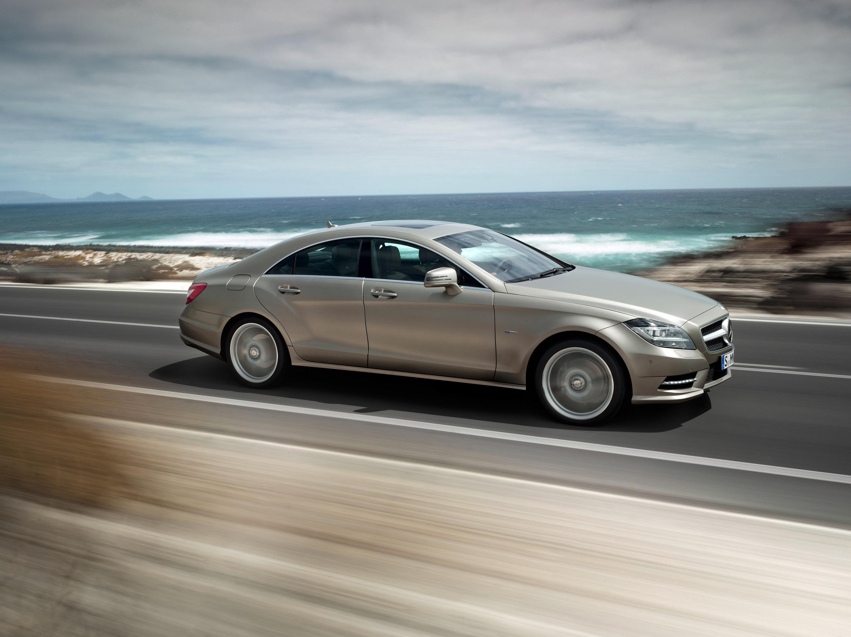 2012 Mercedes-Benz CLS начало продаж - фотография №2